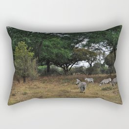 Zebras. Rectangular Pillow