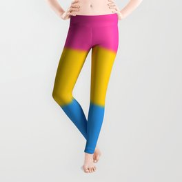 Pansexual Pride Flag Leggings