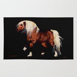 HORSE - Black Forest Rug