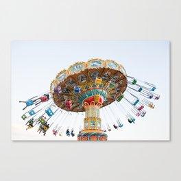 Santa Cruz Tilt A Whirl Canvas Print