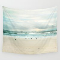 flight Wall Tapestries featuring flight by Sylvia Cook Photography