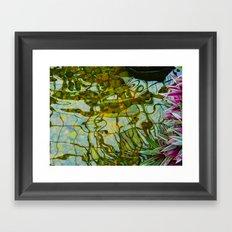 Reflected vision Framed Art Print
