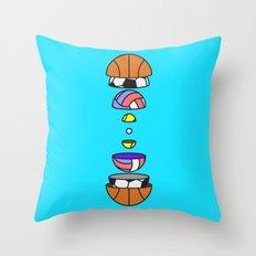 Big Balls Throw Pillow