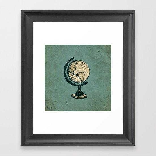 Travel On Framed Art Print