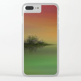 Gloaming Clear iPhone Case