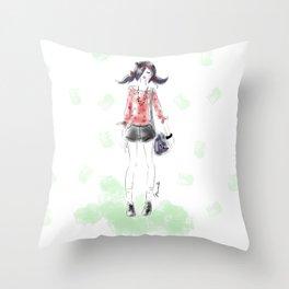 Summer Marinette Throw Pillow