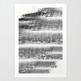 """Levels - Black and White"" Art Print"
