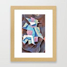 a little bit spanish Framed Art Print