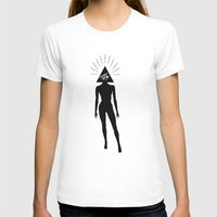 illuminati T-shirts featuring ILLUMINATI HEAD by HAUS OF DEVON
