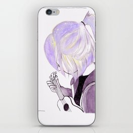 vail and her ukukele iPhone Skin