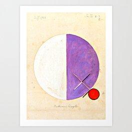 "Hilma af Klint ""No. 3d The Teachings of Buddha"" Art Print"
