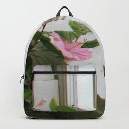 Pink Window Backpack