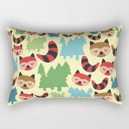 The Bandit Raccoons Rectangular Pillow