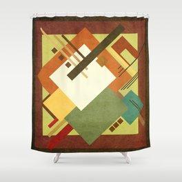 Geometric illustration 3 Shower Curtain