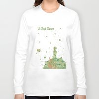 le petit prince Long Sleeve T-shirts featuring Le Petit Prince The Little Prince by Carma Zoe