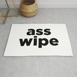 ass wipe Rug