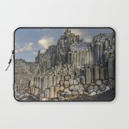The land of hexagonal pillars Laptop Sleeve