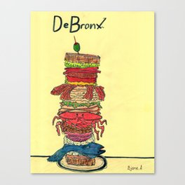 The World's Most Exotic Sandwich Canvas Print