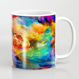 Gold Horse Coffee Mug