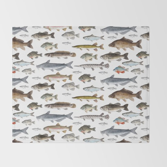 A Few Freshwater Fish by twigandmoth