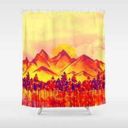 Landscape #05 Shower Curtain