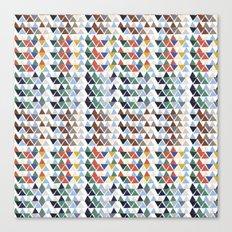 Fun triangles Canvas Print