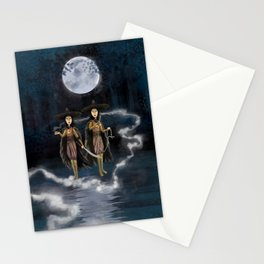Sisters, Kubo digital painting Stationery Cards
