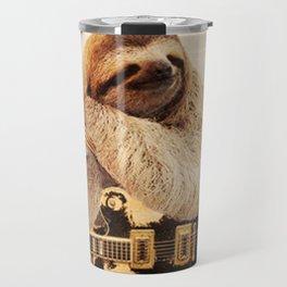Rockstar Sloth Travel Mug