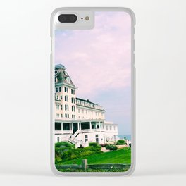 Ocean House Hotel in Watch Hill Rhode Island Clear iPhone Case