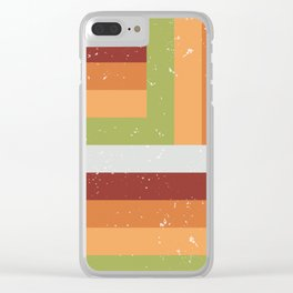 Parallel Clear iPhone Case