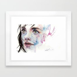 just one in a thousand Framed Art Print