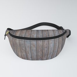 Vintage Wood background - photo wallpaper Fanny Pack