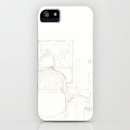 Composition of a composer iPhone Case