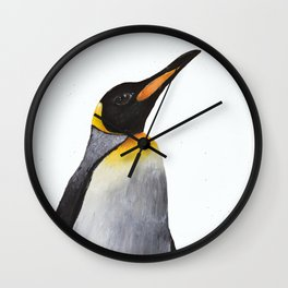 King Penguin Wall Clock