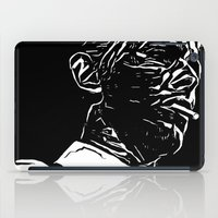 bowie iPad Cases featuring Bowie by Anvil Design California