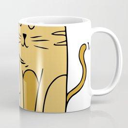Cartoon Cat Family Coffee Mug