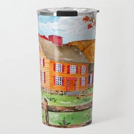 New England Saltbox Travel Mug