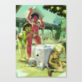 Summer Girls 4.0 Canvas Print