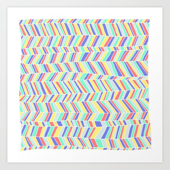 Beach Blanket 1 Art Print