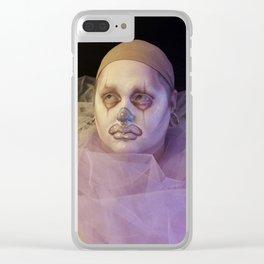 Melanclowny Clear iPhone Case