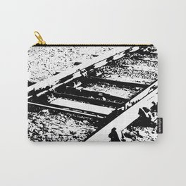 Railway Lines Carry-All Pouch
