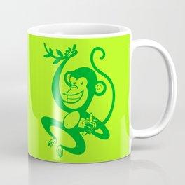 Green Monkey Coffee Mug