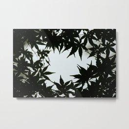 Tokyo's Leaves Metal Print