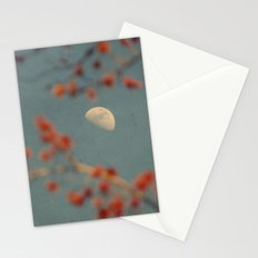 Moon in Spring Maple Stationery Cards