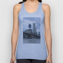 Freedom Tower Brooklyn Bridge 2012 Unisex Tank Top
