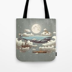 Ocean Meets Sky (original) Tote Bag