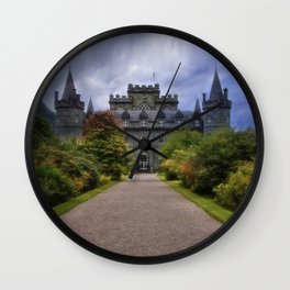 Night at the Castle Wall Clock