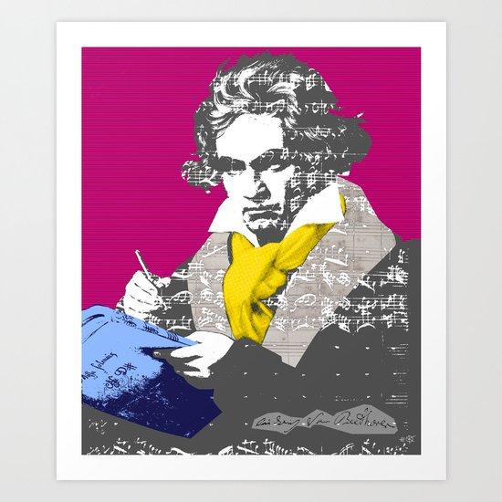 Ludwig van Beethoven 7 Art Print
