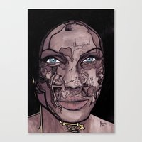 occult Canvas Prints featuring The occult by Joseph Walrave