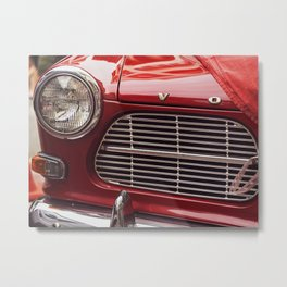 Unveiling a Classic Metal Print